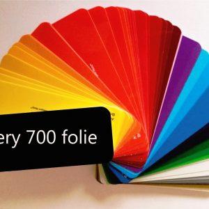 Avery 700 Kleuren folie
